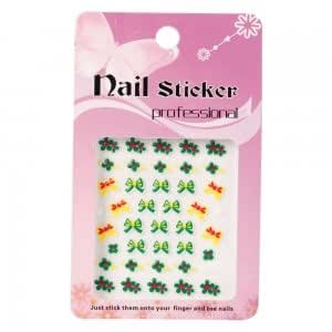 Amazon com 3d christmas style nail art stickers decals me22