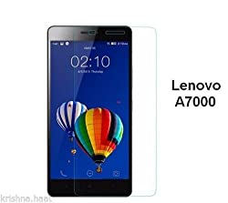 MOBIEXPERTS Lenovo A7000 - anti shatter Tempered Glass Screen Protector 0.3 mm thick