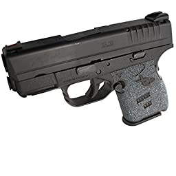 TALON Grips 207G for Springfield XD-S 9mm/.45 (3.3-Inch barrel), Black Granulate, One Size