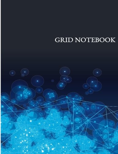 "Notebook Grid: Bitcoin : Notebook Journal Diary, 110 pages, 8.5"" x 11"" [Green, Hannah] (Tapa Blanda)"