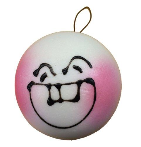 Jumbo Blushing Bun Squishy Teeth Face Steam Bun Squishies - 1
