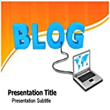 Blog PowerPoint Template - Blog PowerPoint (PPT) Backgrounds Templates