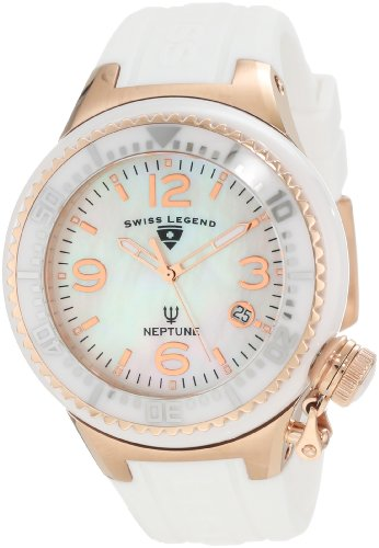 Swiss Legend Women's 11844-WWRA Neptune White