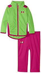Under Armour Baby Girls\' Elevate Set, Gecko, 24 Months