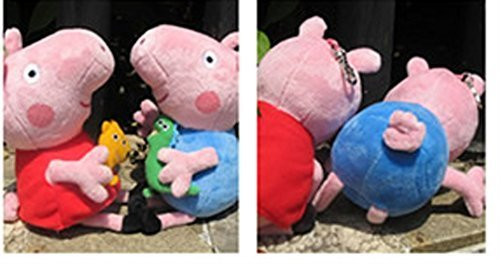 Babys-Favorite-Toy-George-Pig-Red-Sit-15-CM-Tall-Blue