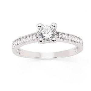 Solitaire Diamant - Or 750 Millièmes (18 Carats): 2.60 Gr - Diamant: 0.45 Carat qualité HSI