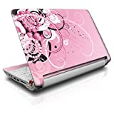 Her Abstraction Design Skin Decal Sticker for Acer (Aspire ONE) 8.9-inch Netbook Laptop ~ MyGift