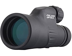Polaris Explorer - 12X50 High Powered Monocular - Bright and Clear Range of View - Single Hand Focus - Waterproof Monocular For Any Weather and Any Environment - 12X Monocular Zoom To See Things 12X Closer - Designed For Bird Watching, Watching Wildlife or Scenery - Comes With Stainless Steel Tripod For Hands Free, Steady Viewing - FREE BONUS* Comes with 4 FREE Expert Bird Watching EBooks - Lifetime Warranty - THE MOST POWERFUL HANDHELD MONOCULAR SCOPE ON THE MARKET TODAY
