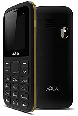 Aqua J1 - Dual SIM Basic Mobile Phone - Black