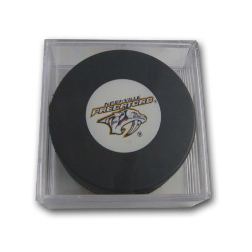 NHL Nashville Predators Souvenir Hockey Puck with Puck Square hockey moms
