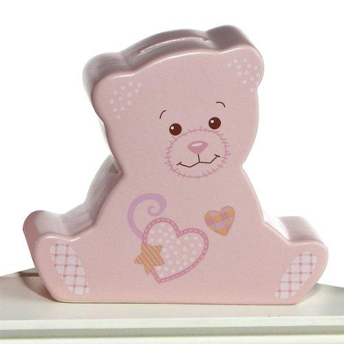 Aurora Baby Sweet Lil' Saver Ceramic Bank, Pink