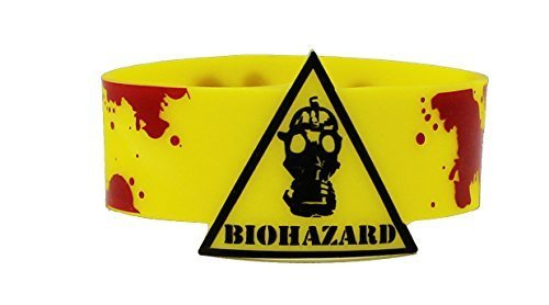 Licenses Products CDX Biohazard Rubber Wristband by C&D Visionary Inc.