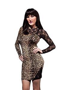 Suddenly Fem Animal Attraction Dress for Crossdressing, Drag Queen, and Transgender