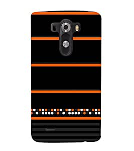 Colorful Dots Pattern 3D Hard Polycarbonate Designer Back Case Cover for LG G3 :: LG G3 D855