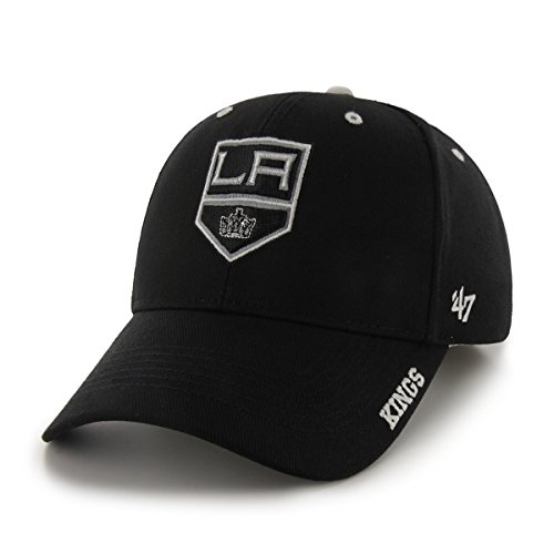 NHL Los Angeles Kings Frost Adjustable Cap, One Size, Black