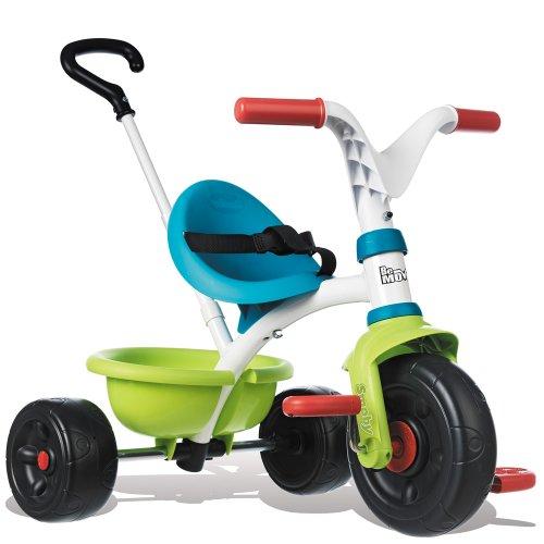 Smoby Dreirad Be Move mit 3 Jahre Herstellergarantie, für Kinder ab 15 Monaten // Kinder Baby Trike Kinderdreirad Schubstange Schiebestange ab 15 Monaten