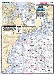 Charts Maps Gulf Of Maine Massachusetts Bay Offshore Fishing Chart