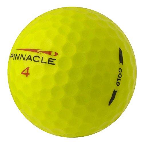 PearlGolf 50 Pinnacle Gold 2012-13 - AAAA-AAA - gelb - Lakeballs - gebrauchte Golfbälle