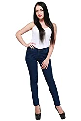 Ellis BlUE Stretchable Slim Fit Poly Cotton Jeans