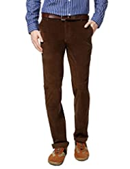 Byford By Pantaloons Men's Flat Front Trouser