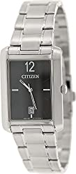 Citizen Analog Black Dial Mens Watch BD0030-51E