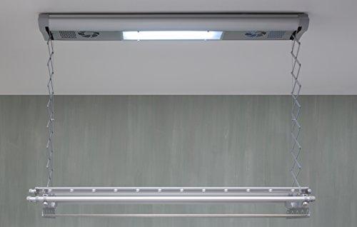 Stendibiancheria da parete e soffitto elettrico Foxydry Air 150, stendino stendipanni ...