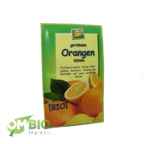 Geriebene Bio Orangenschalen (Bio Vita) 11g