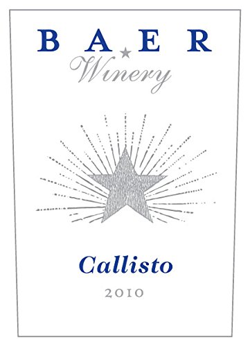 "2010 Baer Winery ""Callisto"" Stillwater Creek Vineyard Bordeaux Style Red Blend 750 Ml"