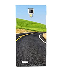 EPICCASE Road to Success Mobile Back Case Cover For Micromax Canvas Xpress A99 (Designer Case)