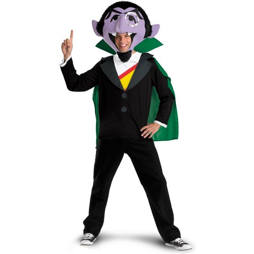 Disguise Mens Sesame Street - The Count Adult Costume