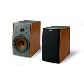 &: JAMO D 430 2-Way Speaker System for Home Theater (Dark