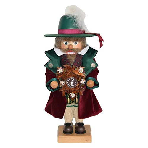 0-475 - Christian Ulbricht Nutcracker - Clockmaker - Ltd Edition 1000 pcs -