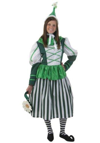 Fun Costumes unisex-adult Plus Size Deluxe Munchkin Woman Costume 1X (Munchkin Costumes Wizard Of Oz)