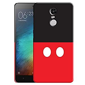 Theskinmantra Mickey Button back cover for Redmi Note 3
