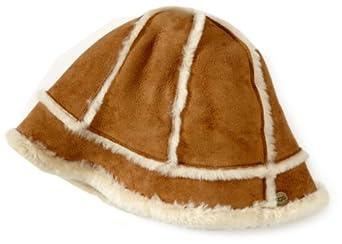 UGG Australia Women's Classic Bucket Hat,Chestnut
