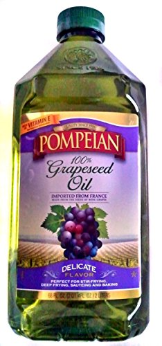 Pompeian 100% Grapeseed Oil, (68 Fl Oz)
