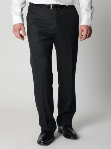 Brook Taverner Chertsey Trousers in Charcoal 38L