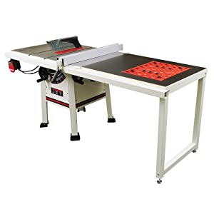 Jet 708489k 10 inch 1 3 4hp 52 inch proshop table saw with for 10 jet table saw