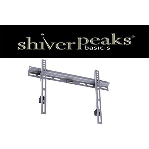 "shiverpeaks BASIC-S Flachbildschirm-Wandhalterung, silber 66,04 cm - 93,98 cm (26"" - 94,00cm (37"")), Tragkraft: 56,0 kg, - 1 Stück (BS89717)"