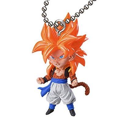 DragonBall Z GT UDM Burst 03 Figure Keychain - SS4 Goku