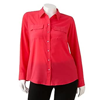 apt 9 crepe blouse s plus at women s