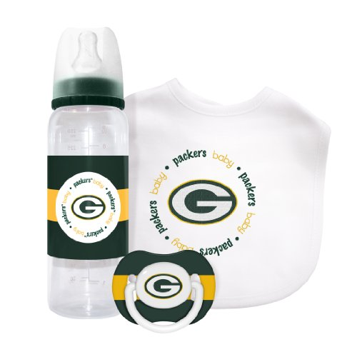 Baby Fanatic NFL Green Bay Packers Baby Gift Set Unisex
