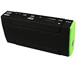 13,500 mAh Plug and Play Compact/ portable power BANK for ALL devices that use a USB port for power. Also features a Car Jump Starter and Emergency Power Source for all 12V cars. For Phone,car,MP3,tablet ,Computer Laptop. Includes Smart phone Charging Cab