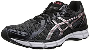 ASICS Men's Gel-Excite 2 Running Shoe,Black/Lightning/Red,8 M US