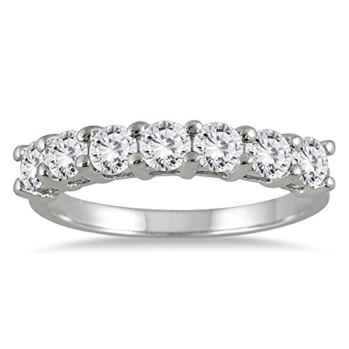 100-Carat-Seven-Stone-Diamond-Wedding-Band-in-14K-White-Gold