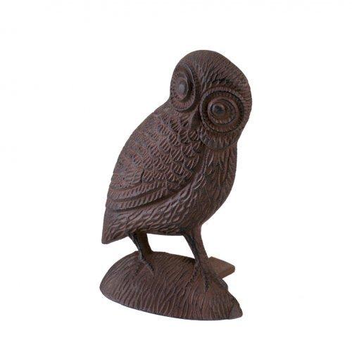 Koolekoo Owl Door Stopper - Cast Iron Door Stop