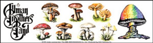 Licenses Products Allman Mushrooms Sticker