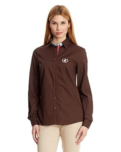Polo Club Bluse klassisch Small Horse Shirt Sra Flower