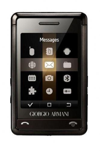 Samsung P520 Armani Titan Grey new sim free