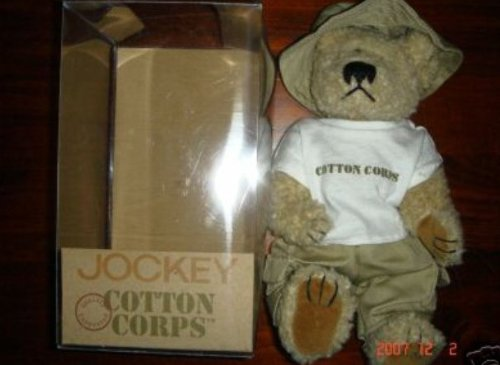 Jockey Cotton Corps Stuffed Bear